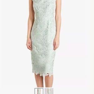 TED BAKER Mint Lace Dress UK3/US8